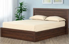 CasaStyle Elvino Heavy Duty Engineered Wood Bed with Box Storage - 15mm Branded Engineered Wood