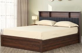 CasaStyle Maxell Heavy Duty Engineered Wood Bed with Box Storage - 15mm Branded Engineered Wood