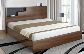 CasaStyle Zonley Heavy Duty Engineered Wood Bed with Box Storage - 15mm Branded Engineered Wood