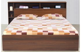 CasaStyle Delron Heavy Duty Engineered Wood Bed with Box Storage - 15mm Branded Engineered Wood