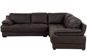 CasaStyle - Ebonza 5 Seater Leatherette Sofa Set (Brown)