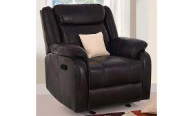 Casastyle Danobe 1 Seater Recliner Sofa (Black)