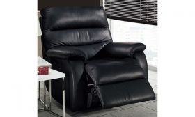 Casastyle Dalvin One Seater Leatherette Recliner (Black)