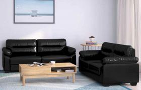 CasaStyle - Honbaro 3+2 Sofa Set (Black)