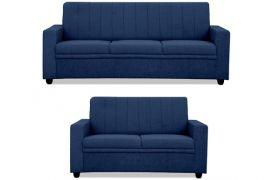 CasaStyle - Stawlon 3+2 Sofa Set (Dark Blue)
