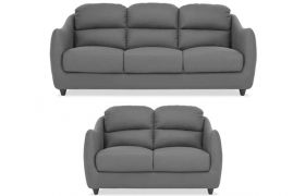 CasaStyle - Tosjon 3+2 Sofa Set (Grey)
