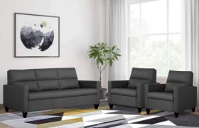 CasaStyle - Alvinston 3+1+1 Seater Sofa Set - Premium Fabric 5 Seater Sofa Set