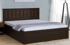 CasaStyle Kyron  Engineered Wood Bed with Box Storage