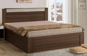 CasaStyle Aljoy Engineered Wood Bed with Box Storage