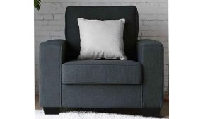 Apolly 1 Seater Sofa in Fabric