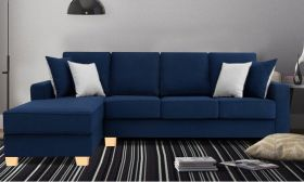 CasaStyle Apolly 5 Seater LHS L Shape Sofa Set