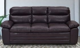 CasaStyle Astro Leatherette Sofa Set For Living Room