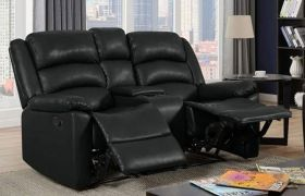 CasaStyle Carsley Two Seater Recliner Sofa with Storage