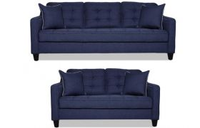 CasaStyle - Blenzon 3+2 Sofa Set (Dark Blue)