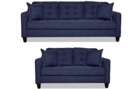 CasaStyle - Blenzon 3+2 Sofa Set (Dark Blue)