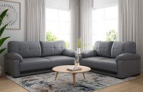 CasaStyle - Briksar 3+2 Sofa Set (Grey)