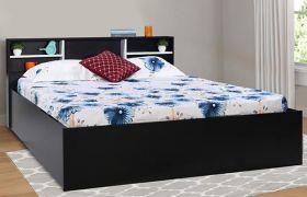 CasaStyle Brimson Engineered Wood Bed with Box Storage