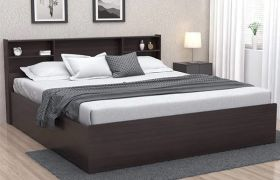 CasaStyle Byjosh Engineered Wood Bed with Box Storage