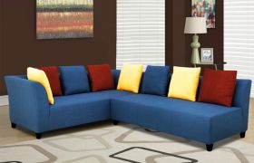 CasaStyle Ambrosia 5 Seater Interchangeable Corner Sofa (Multi-Color)