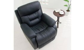 CasaStyle Amilio One Seater Recliner (Black)