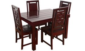 CasaStyle Dalgona Dining Table Set