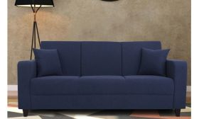 CasaStyle Loera Three  Seater Fabric Sofa | Sofas for Living Room