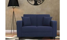 CasaStyle Loera Two Seater Fabric Sofa | Sofas for Living Room