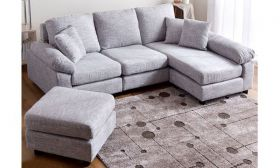 Casastyle Carloss Five Seater Interchangable L shape Sofa