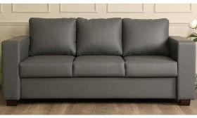 CasaStyle Harleyson Three Seater Leatherette Sofa