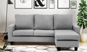 Casastyle Lauren Four Seater Interchangeable L shape Sofa