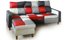 Casastyle Lissa Four Seater L shape Sofa (Multi-color)