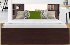 CasaStyle Elon Engineered Wood Bed with Box Storage