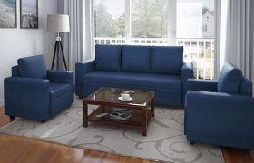 CasaStyle Jamestown 5 Seater Fabric 3+1+1 Sofa Set
