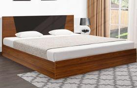 CasaStyle Krissvon Engineered Wood Bed with Box Storage