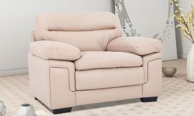 CasaStyle Macken 1 Seater Sofa (Cream)