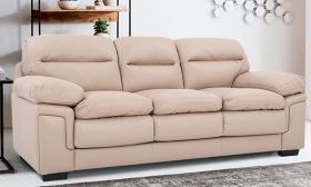 CasaStyle Macken 3 Seater Sofa (Cream)