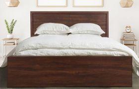 CasaStyle Monaza Engineered Wood Bed with Box Storage