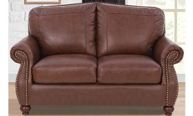 CasaStyle Roman 2 Seater Sofa (Brown)