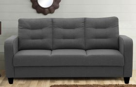 CasaStyle Santiago 3 Seater Sofa (Grey)