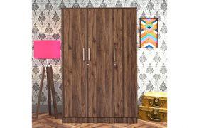 CasaStyle Toyson Engineered Wood 3 Door Wardrobe with Drawer