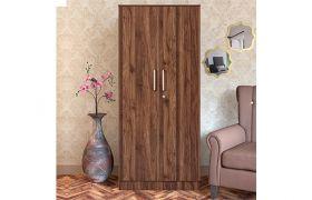 CasaStyle Toyson Engineered Wood 2 Door Wardrobe with Drawer