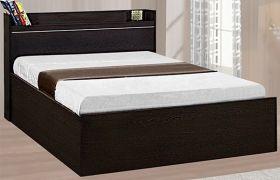 CasaStyle Tressferd Engineered Wood Bed With Box Storage