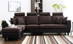 CasaStyle Wanster 6 Seater L Shape Interchangeable Sofa Set